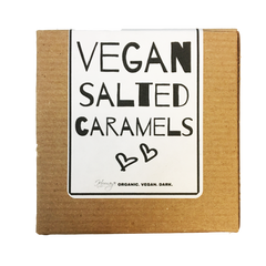 Hooray Truffles Salted Chocolate Dipped Caramels - 66g