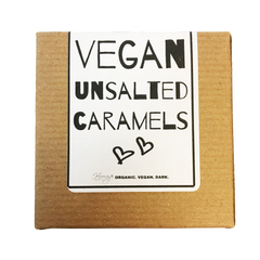 Hooray Truffles Unsalted Chocolate Dipped Caramels - 66g