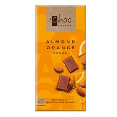 iChoc Almond Orange Chocolate - 80g