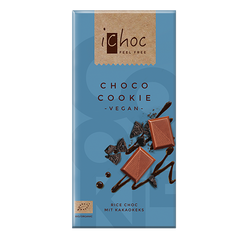 iChoc Choco Cookie Chocolate - 80g
