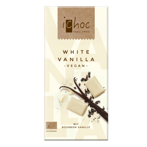 iChoc White Vanilla Chocolate - 80g