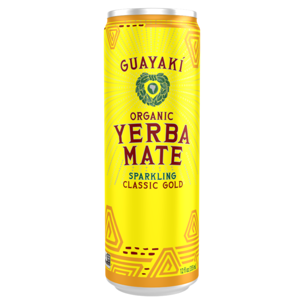 Guayaki Yerba Mate Classic Gold Can - 355ml