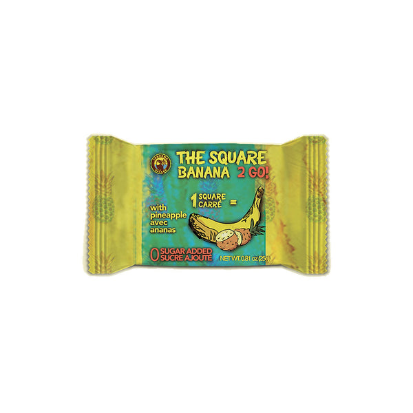 Ipanema Valley Banana With Pineapple Square - 25g