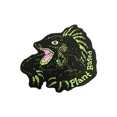Itoowasgoo 'Plant Based Iguana' Sticker