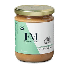 Jem Cashew Cardamom Sprouted Almond Butter - Multiple Sizes
