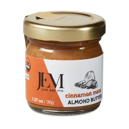 Jem Cinnamon Maca Almond Butter -  Multiple Sizes