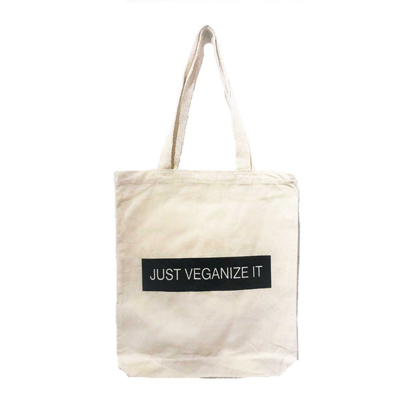 Talk Vegan To Me Just Veganize It Tote Bag