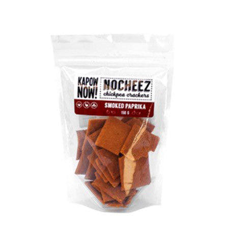 Kapow Now! Nocheez Smoked Paprika Crackers - 150g