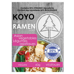 Koyo Reduced Sodium Asian Vegetable Ramen