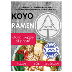 Koyo Reduced Sodium Garlic Pepper Ramen
