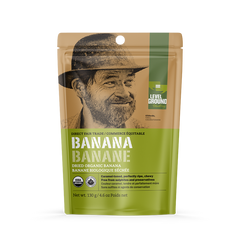Level Ground Organic Dried Banana - 130g