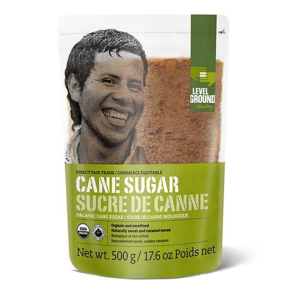 Level Ground Organic Cane Sugar - 500g