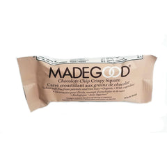 MadeGood Chocolate Chip Crispy Square - 22g