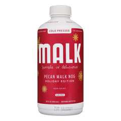 Malk Holiday Nog Pecan Milk - 828ml