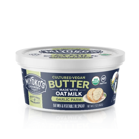 Miyoko's Garlic Parm Oatmilk Butter - 198g
