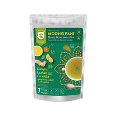 Moong Pani Ginger, Lemon and Cilantro Mung Bean Soup-Tea - 90g