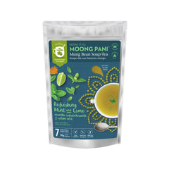 Moong Pani Refreshing Mint and Lime Mung Bean Soup-Tea - 90g