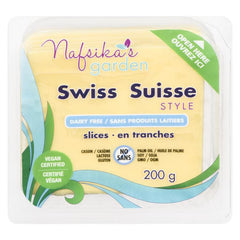 Nafsika's Garden Swiss Cheese Slices - 200g
