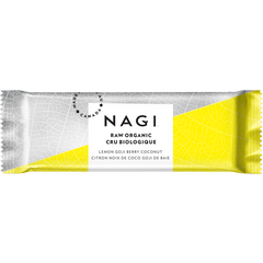 Nagi Lemon Goji Berry Coconut Bar - 53g