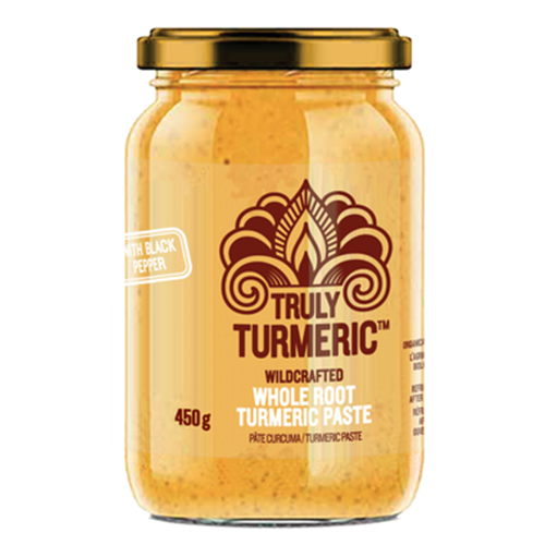 Naledo Truly Turmeric Whole Root Turmeric Paste With Black Pepper - 450g