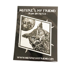 Nature's My Friend 'Horned Owl' Patch