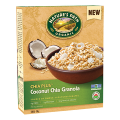 Nature's Path Chia Plus Coconut Chia Granola - 350g