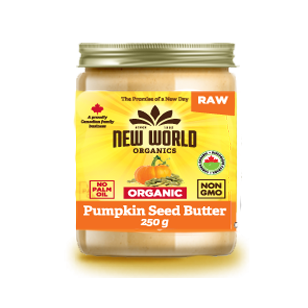 New World Organic Raw Pumpkin Seed Butter - 250g