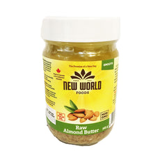 New World Smooth Raw Almond Butter - 365g