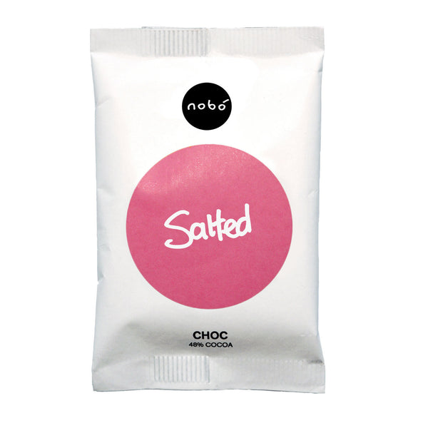 Nobo Irish Sea Salted Chocolate - 30g