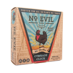 No Evil Foods Comrade Cluck No Chicken Shredded Strips - 283g