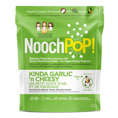NoochPoP Kinda Garlic'n Cheesy Popcorn - 120g