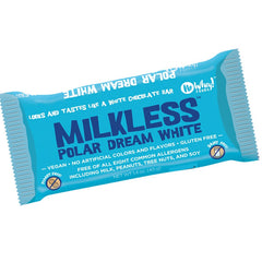 No Whey Foods White Milkless Polar Dream Chocolate Bar - 40g