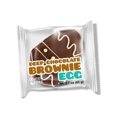 No Whey Foods Deep Chocolate Brownie Egg - 60g