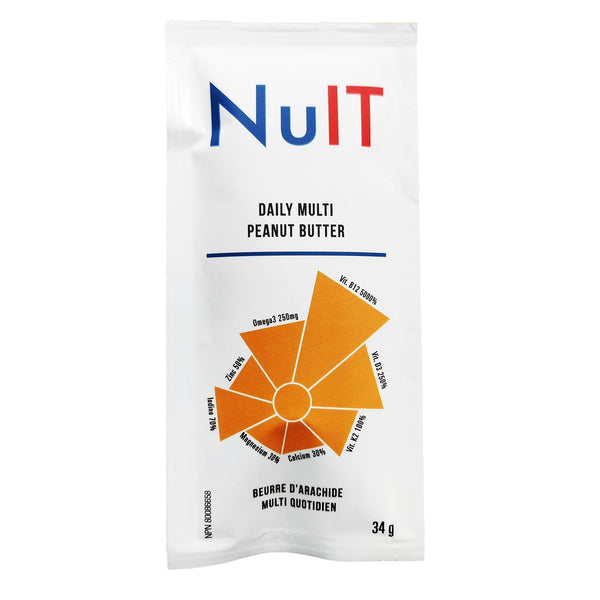 Nuit Daily Multi Peanut Butter Pack - 34g
