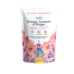 Nume Achieve Orange, Tumeric & Ginger Cereal - 255g
