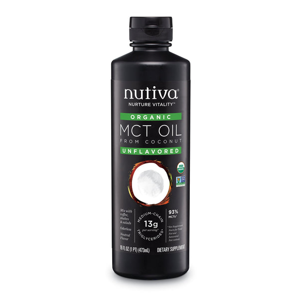 Nutiva Organic Liquid MCT Coconut Oil - 473ml