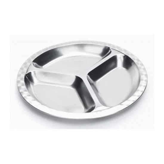 Onyx Medium Divided Food Tray