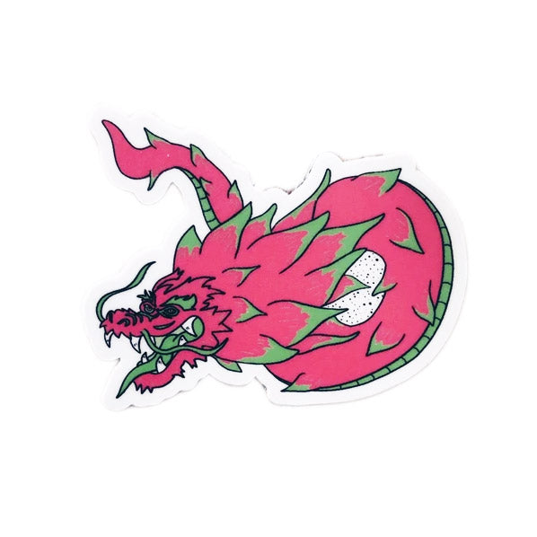 Plant Active 'Dragon Fruit' Sticker