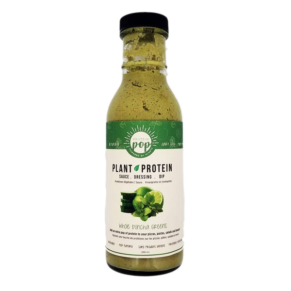 Protein Pop Whole Buncha Greens Sauce - 355ml