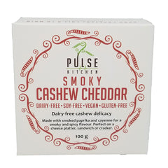 Pulse Kitchen Smoky Cashew Cheddar Cheese - 100g