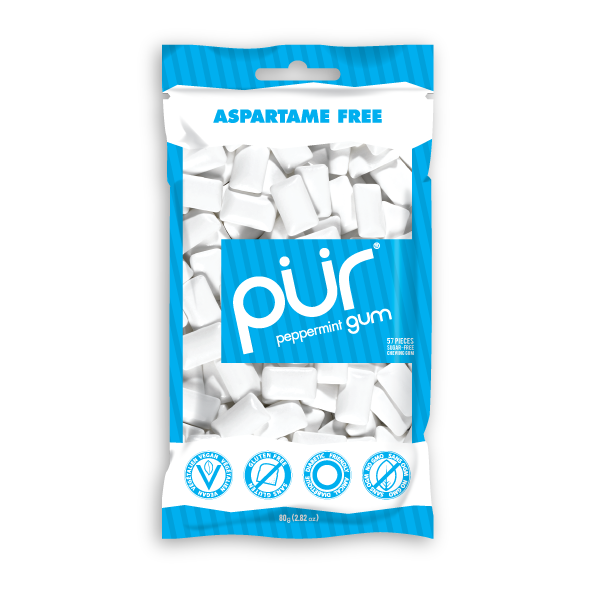 Pur Peppermint Gum - Multiple Sizes