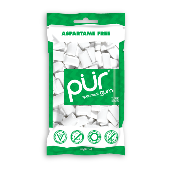 Pur Spearmint Gum - Multiple Sizes