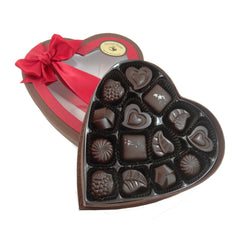 Pure Lovin' Chocolate Heart Shaped 14pc Assortment - 150g