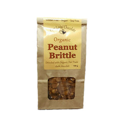 Pure Lovin' Chocolate Organic Peanut Brittle - 100g
