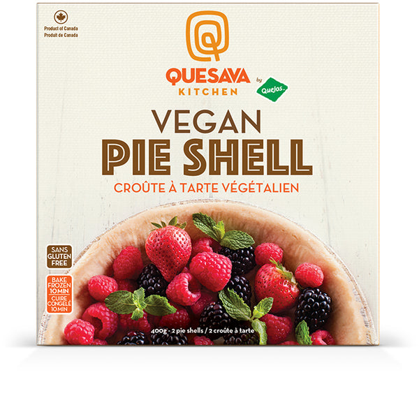 "Quesava Kitchen 9"" GF Pie Shell - 400g"