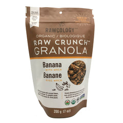 Rawcology Banana Raw Crunch Granola - 200g