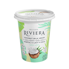 Riviera Natural Flavour Yogurt - 650g