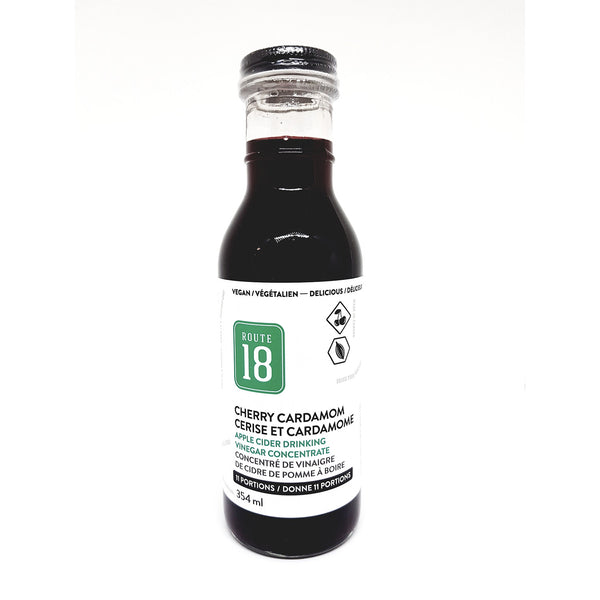 Route 18 Cherry Cardamom Apple Cider Drink - 354ml