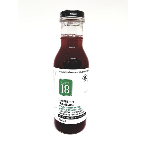 Route 18 Raspberry Apple Cider Drink - 354ml