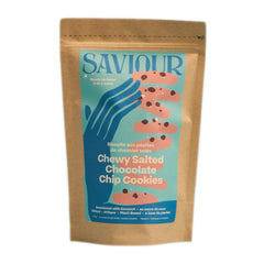 Saviour Chewy Salted Chocolate Chip Prepared Cookie Dough - 525g